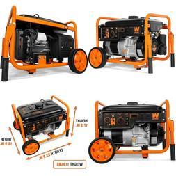 Wen 56500 5000-Watt Rv-Ready 120V/240V Portable Generator Wi