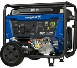 Westinghouse WGen7500 Portable Generator w/ Electric Start -